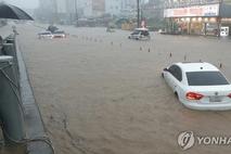 폭우에 車가 침수됐다면 보험사에 연락하세요
