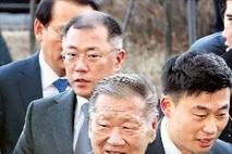 정몽구 현대차 명예회장, 4개월 만에 퇴원