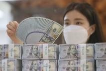 7월 외환보유액 4587억 달러 '사상 최대'