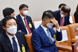 """""""짜증나는 김범수""""…국감장 세차례 호출된 카카오 총수"""